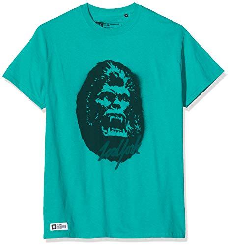 Zoo York Kong T-Shirt, Blu (Jade Dome Jad), Small Uomo