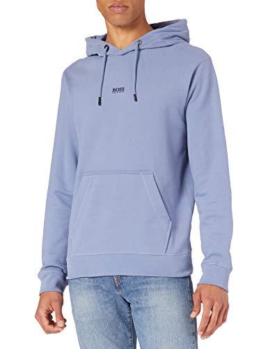 BOSS Mens Weedo 2 10234069 01 Sweatshirt, Open Blue489, L