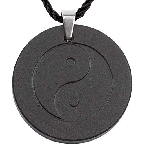 Collar de cristal de turmalina negro para la protección de emf con piedra volcánica de lava negra | Protección contra la radiación infrarroja lej