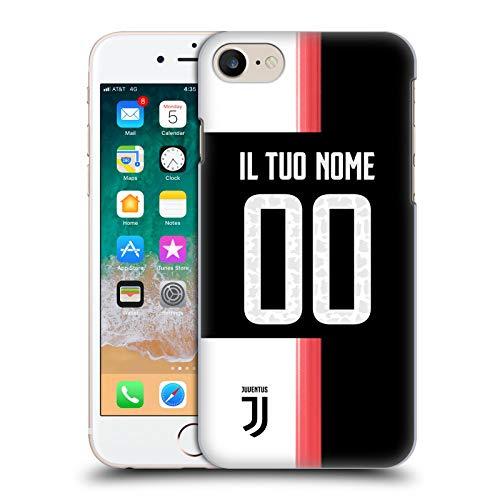 Head Case Designs Personalizzata Personale Juventus Football Club in casa Cover Dura per Parte Posteriore Compatibile con Apple iPhone 7 / iPhone 8 / iPhone SE 2020