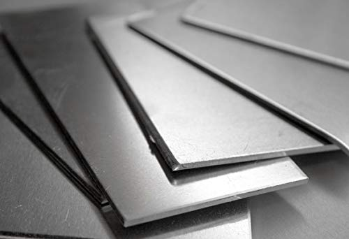 Nickelblech 1mm Ni 99.6% Platte Zuschnitt Feinblech 2.4060 wählbar Wunschmaß möglich 150x300mm