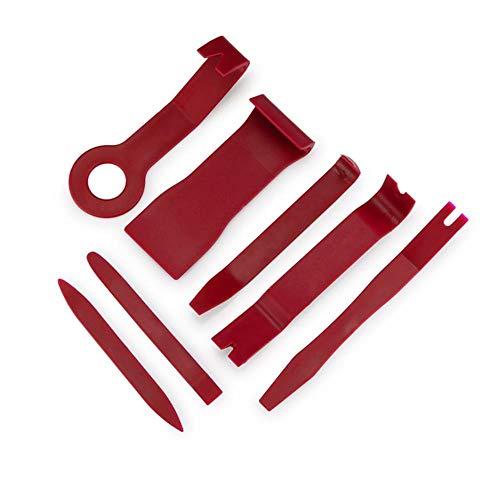 JUECAN Gereedschapset voor kunststof autoreparatie, gereedschapset voor autoradio demontage