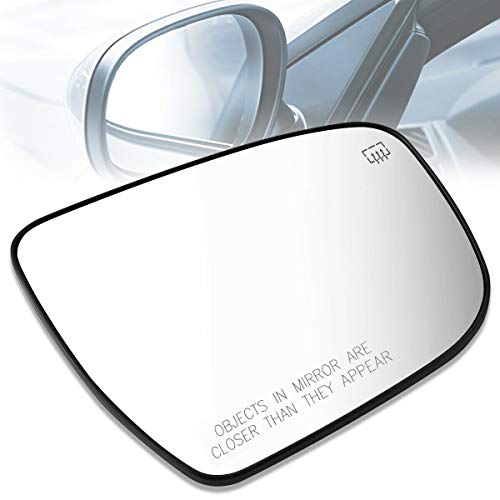 PLKDOO For 17-19 Pathfinder V6 3.5L Rogue L4 2.0L&15-18 Murano V6 3.5L&16 Murano L4 2.5L &14-19 Rogue L4 2.5L Right Heated Mirror Glass Lens