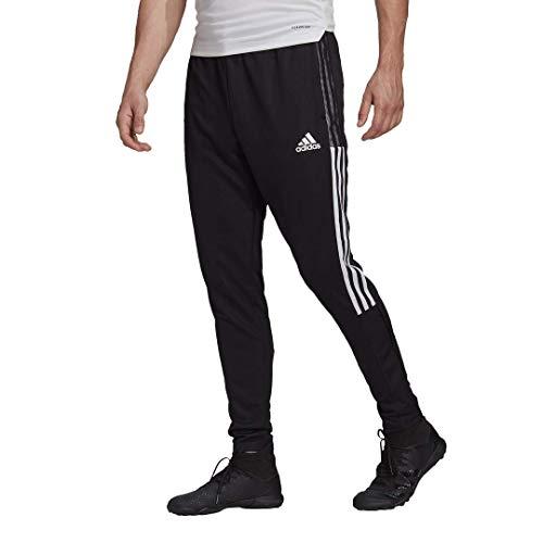 Adidas,Mens,Tiro 21 Track Pants,Black/White,Medium