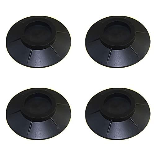 4 amortiguadores de vibraciones, pies de goma, amortiguadores de vibraciones antideslizantes, almohadillas de silicona portátiles, antivibraciones, alfombrilla antideslizante para lavadora