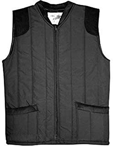 FASHION REVIEW Mens Padded Quilted Country Leisure Wear Made in England Corduroy Body Warmer Gilet