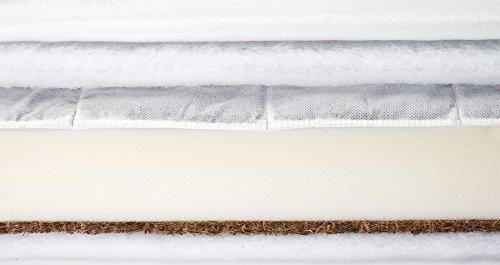 Children's Bed Mattress Baby Sensilo Buckwheat Foam Coconut 120 x 60 cm
