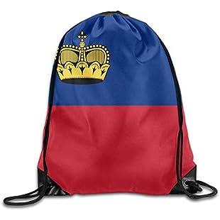 Shanzhi Flag Of Liechtenstein Cool Gym Drawstring Bags Travel Backpack Tote School Rucksack