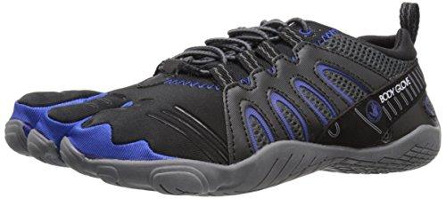 Body Glove Men's 3T Barefoot Warrior Water Shoe, Black/Blue, 10 M US