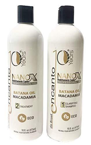 Nanox Braszilian Keratin treatment, cheratina brasiliana lisciante 2x236ml