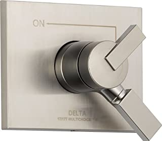 Delta Faucet Vero 17 Series Dual-Function Shower Handle Valve Trim Kit, Stainless T17053-SS (Valve Not Included)