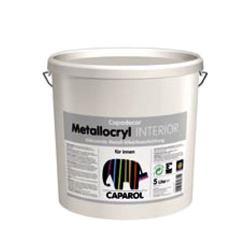 Caparol Capadecor Metallocryl Interior ca. RAL 9006 2,500 L