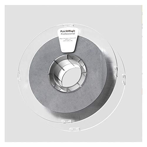 Filamento per stampante 3D 1,75 mm, filamento Pla K5 1 kg, conferisce alla stampa un effetto superficiale simile alle rocce naturali.-Grigio cemento