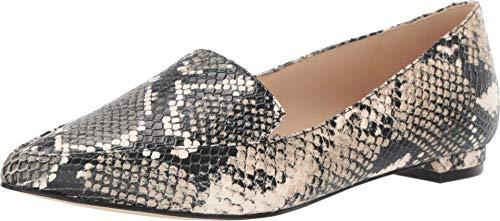NINE WEST Damen Fashion Flache Loafer, Grau