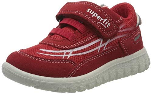 Superfit Jungen SPORT7 Mini Sneaker, Rot (Rot 50), 27 EU
