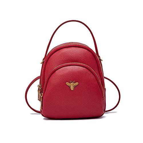 Buy and buy at Brandon Small Bag Female Fashion Backpack Crossbody Bag Wild Autumn and Winter Student Shoulder Bag TideRedA