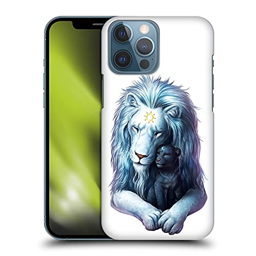 "Head Case Designs オフィシャル ライセンス商品 オフィシャルJonas""JoJoesArt"" J?dicke ライト・オブ・チャイルド・ライオン クリーチャーズ Apple iPhone 13 Pro Max 専用ハードバックケース"