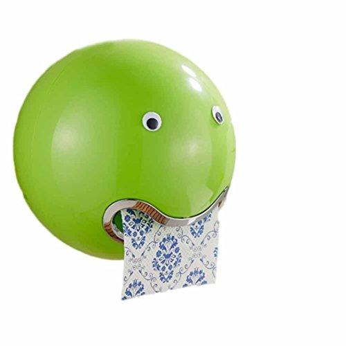 WC-Papierhalter, Frashing Ball Shaped Cute Toilettenpapierhalter Wasserdicht Toilettenpapier Box Rollenpapier Halter