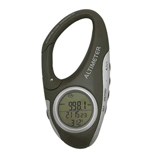 SUNERLORY Altimetro Digitale, cronometro Portatile, Orologio da Esterno, Display LCD, Mini altimetro Professionale Multiuso