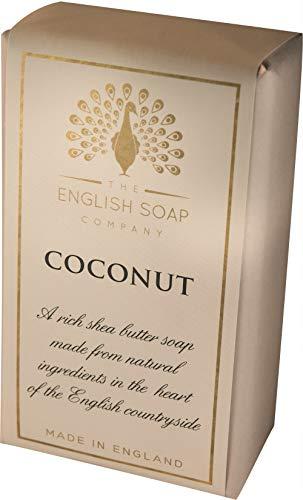 The English Soap Company, Pure Indulgence Coconut, Shea Butter Soap, 200g