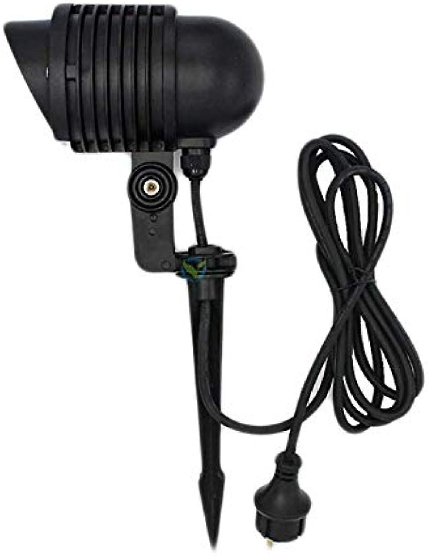 1 Stück LIGHTEU Milight WLAN LED Lampe original 9W Farbe RGB plus WarmWei,dimmbar,Farbwechsel Gartenleuchte mit Erdspie und 3m Kabel,IP65,ohne Fernbedienung