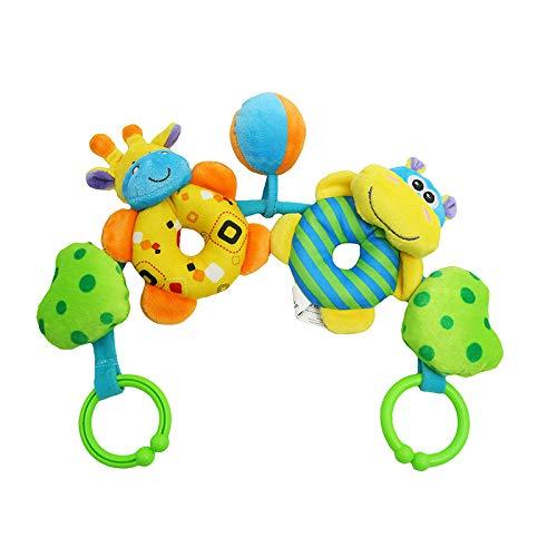 ZWOOS Juguetes para bebés Juguetes Colgantes para bebés recién Nacido con Campana de Timbre para bebés de 3 6 9 12 Meses Niños y niñas