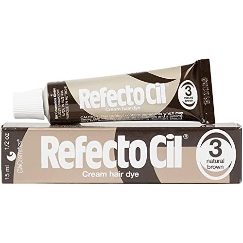 Refectocil Natural Brown #3 Creme Hair Dye For Lash & Brow