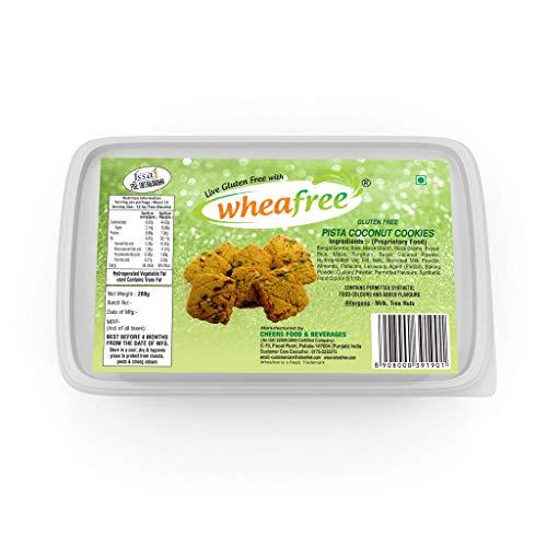 Wheafree Gluten Free Pista Coconut Cookies 200g (Certified Gluten Free)