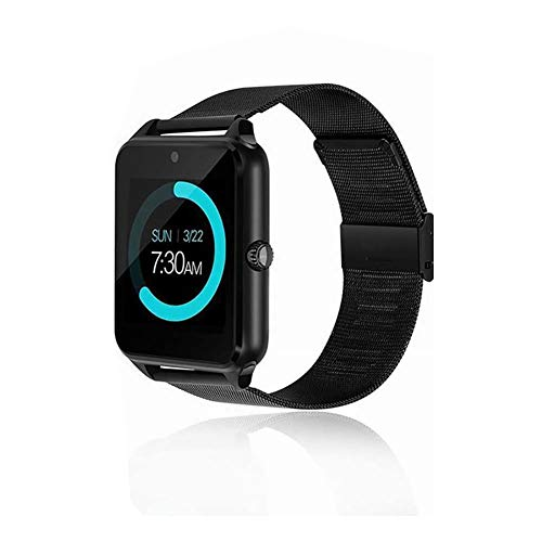 SFNTION Fitness Armband Bluetooth Smart Watch Telefon Z60 Smartwatch für iOS Android