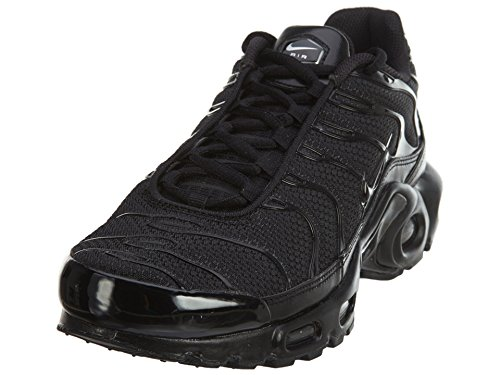 NIKE Air Max Plus, Baskets Hommes, Black Black Black 050, 46 EU