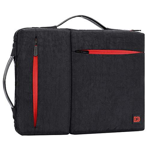 DOMISO 13.3 Zoll Laptophülle Notebook Tasche Schutzhülle Aktentasche Handtasche mit Apple 13