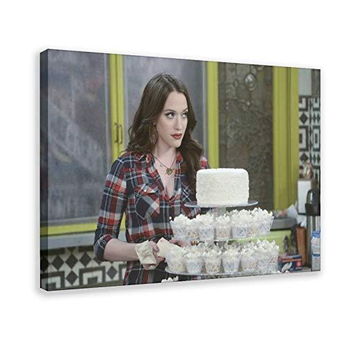 TV Two Broke Girls Max - Poster su tela, colore: Nero