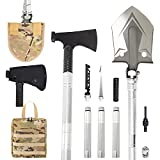 OSPUORT Camping Shovel Axe Folding Multi-Tool Wilderness Survival, Wilderness Travel, Hunting Emergency situations high Carbon Steel Military Camping Shovel