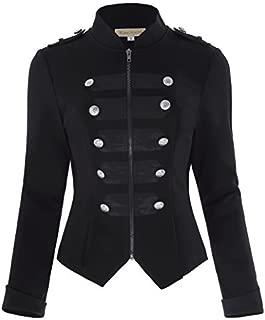 gothic military style jacket