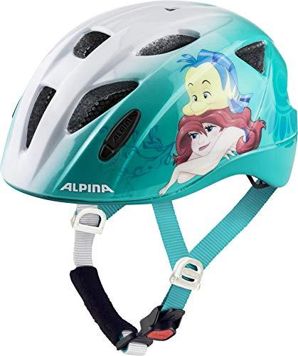 ALPINA Unisex - Kinder, XIMO DISNEY Fahrradhelm, Arielle, 45-49