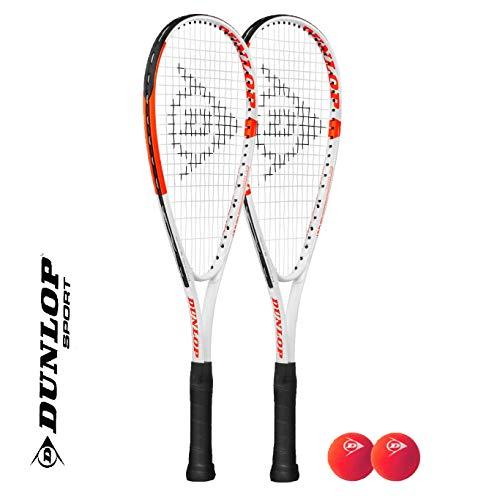 DUNLOP Mini raquette de squash avec cadre...