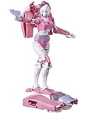Transformers Toys Generations War for Cybertron Kingdom Deluxe WFC-K17 Arcee, 14 cm, kinderen vanaf 8 jaar
