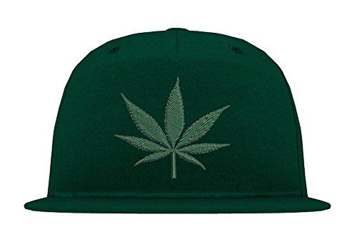 TRVPPY 5-Panel Snapback Cap Casquette modèle Cannabis, différentes Couleurs, b610