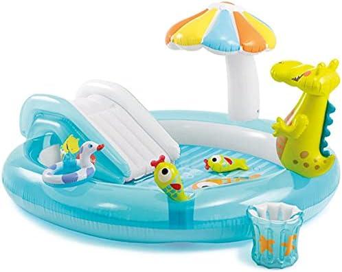 YUYTIN Max 75% service OFF Inflatable Swimming Pool Crocodile Slide Swi Spray Water
