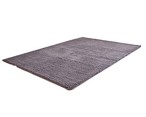 Super Weiche Flauschige Teppiche Für Wohnzimmer Schlafzimmer Geeignet Als Home Decor Splittergrau 100 * 160CM