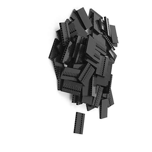 Aexit 80 Stücke 10 P Jumper Draht Kabel Gehäuse Buchsenstecker 2,54mm Pitch (e658d6a9545b7f97a5f51609d8a953e9)