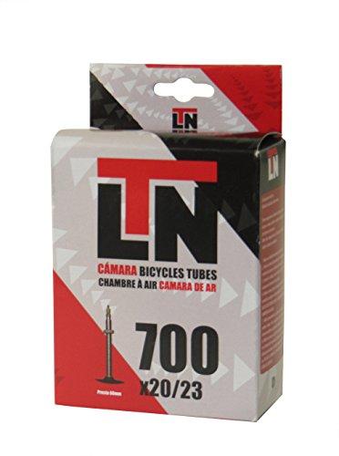 ELTIN Camara LTN 700X20/23 V. Presta 60 MM Ciclismo, Negro, Talla Única