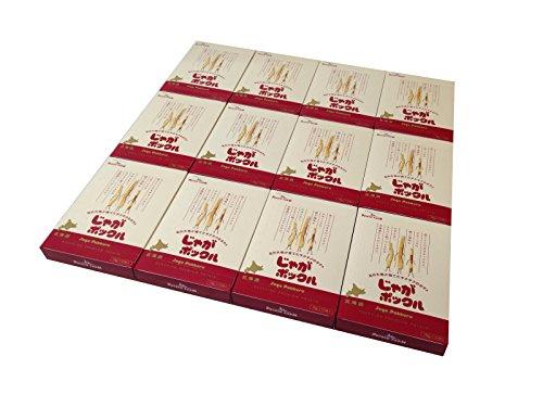 【北海道限定】じゃがポックル(薯條三兄弟) 大 10袋入り / 新千歳空港お土産袋付き / 複数注文可能 /ポテトファーム (12個)