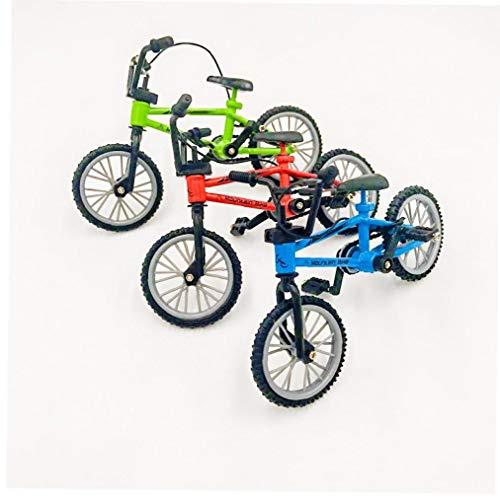 1pc Mini-Finger-BMX Bike, Alloy Finger BMX, Niños Finger Bike BMX Toys Gift (Color Aleatorio)