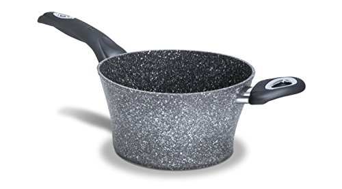 Bialetti y0C6pg0240Petra Madame Vera Kochtopf Polenta Aluminium Grau 40x 26,2x 16,6cm