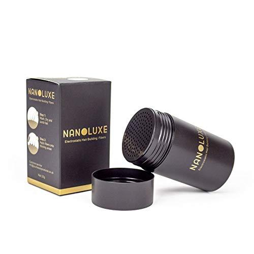 Nanoluxe Poudre anticernes Fibres de cheveux Marron clair 25 g