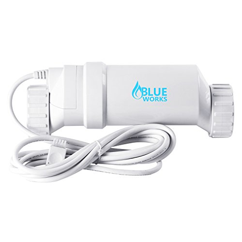 Blueworks BLT9 Cell | T-Cell-9 Compatible with Hayward Goldline AquaRite Systems | Cell Plates Made by USA Company (White)