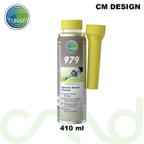 TUNAP Microflex 979 -Liquido detergente per iniettore diretto di benzina da 300ml