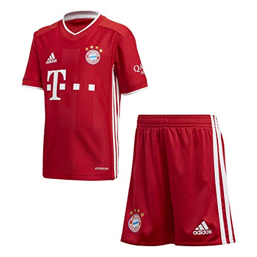 adidas Kinder 20/21 FC Bayern Home Minikit, Fcbtru, 104