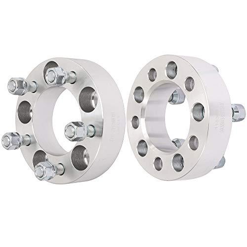ECCPP 5x114.3 Wheel Spacers 5 Lug 5x4.5 to 5x4.5 5x114.3mm 1.5 82.5mm CB with 1/2x20 Studs